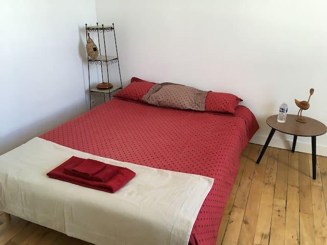 Charmante chambre au calme.