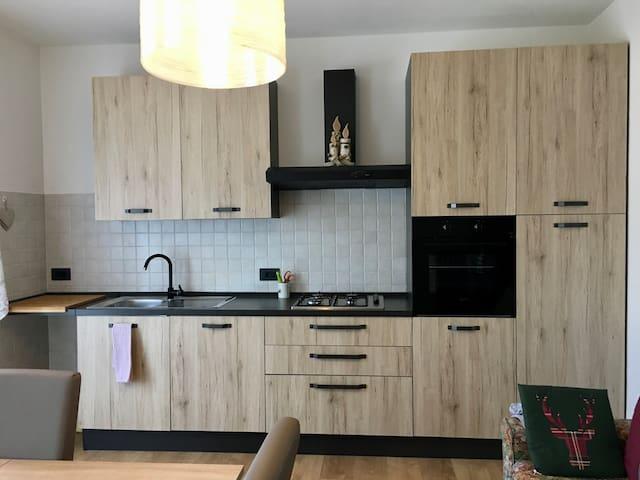 Appartamento accogliente interamente ristrutturato