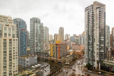 City View, Downtown Studio 24/7 access  + parking - Vancouver