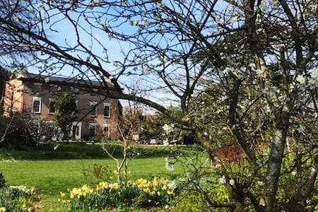 Ensuite, big double room, Quantock Hills, Somerset - Enmore - Hus