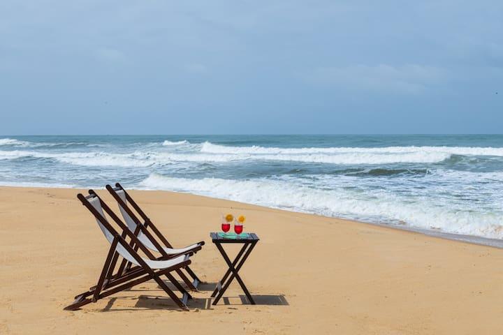 Ocean Pearl, Beach Villa in Hejamady, near Udupi