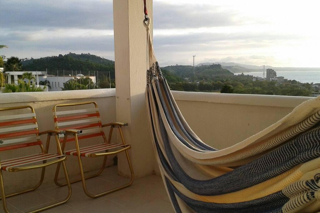 Balcon del dormitorio master