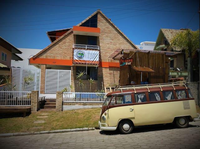 Quatro Ilhas Eco Hostel (quarto masculino)