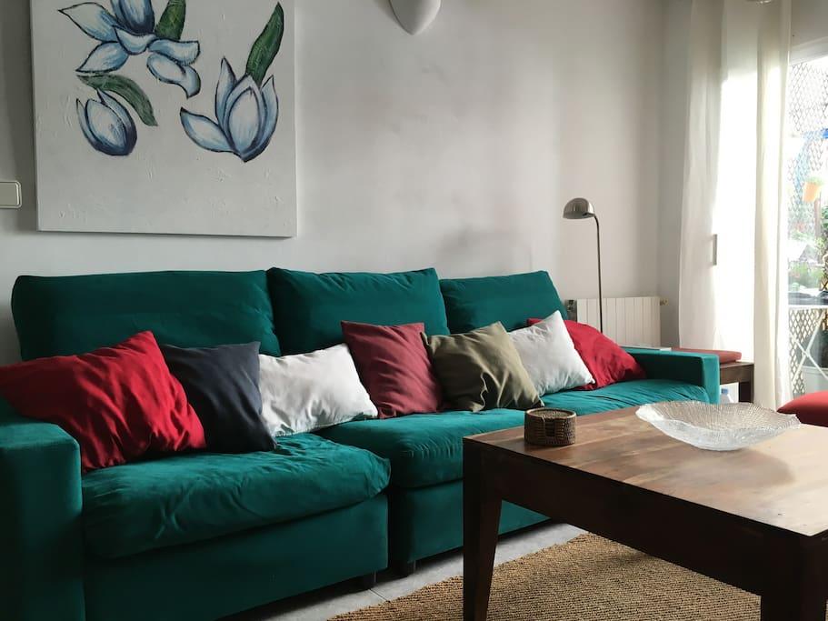 Un salón muy confortable !