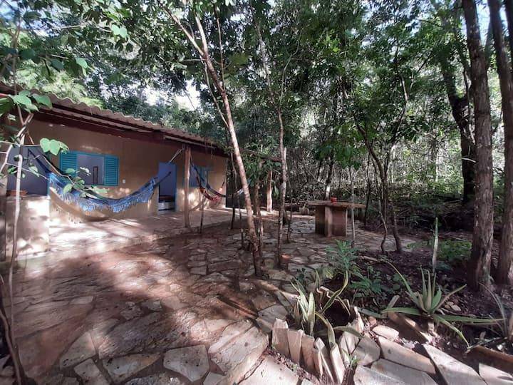 Casa na Mata com rio a 2km de Pirenópolis