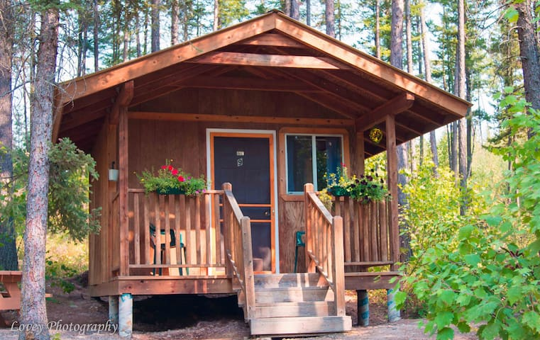Pioneer Cabin 7 near Glacier National Park