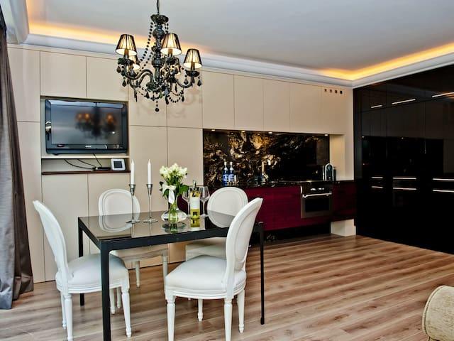 Elegancki apartament przy plaży/ by the beach - Z6 - Jastarnia - Appartement