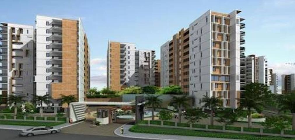 Luxury 3Bedroom Apartment Near Chennai Airport - Chennai - Apartament