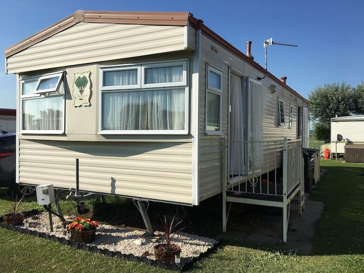 Static Caravan on family friendly site