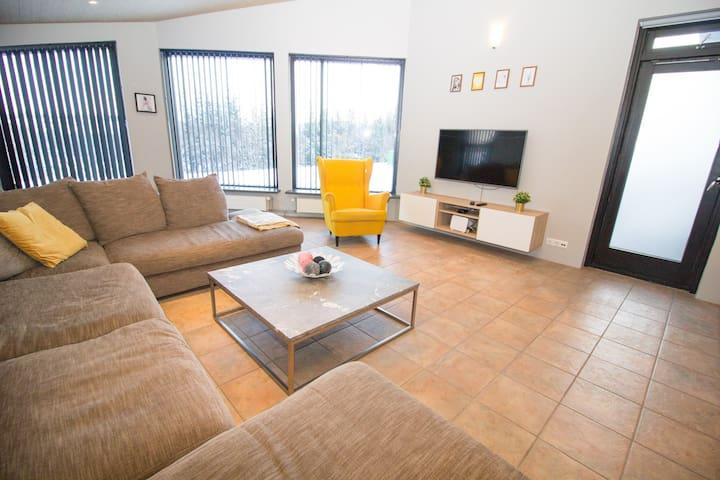 Sunny and Spacious Reykjavík Apartment