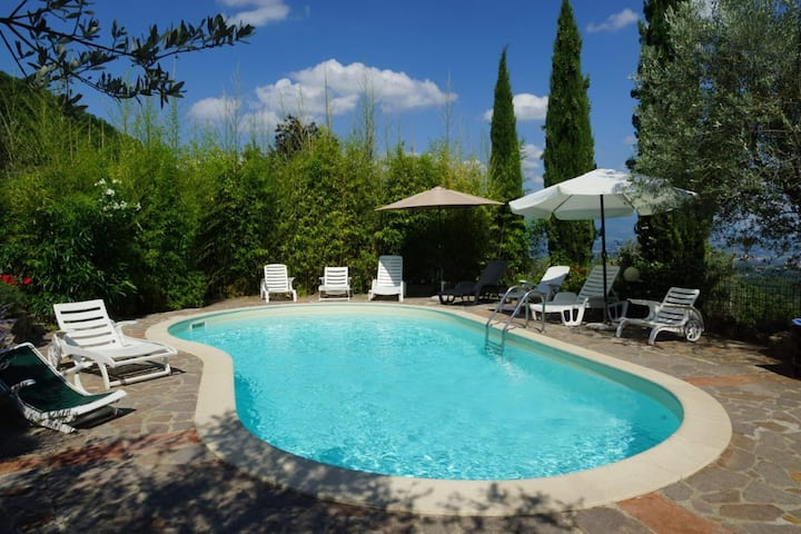 Heritage Villa in Poggio alla Croce with Swimming Pool