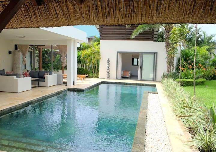 Spacieuse Villa 5* avec piscine à Grand baie