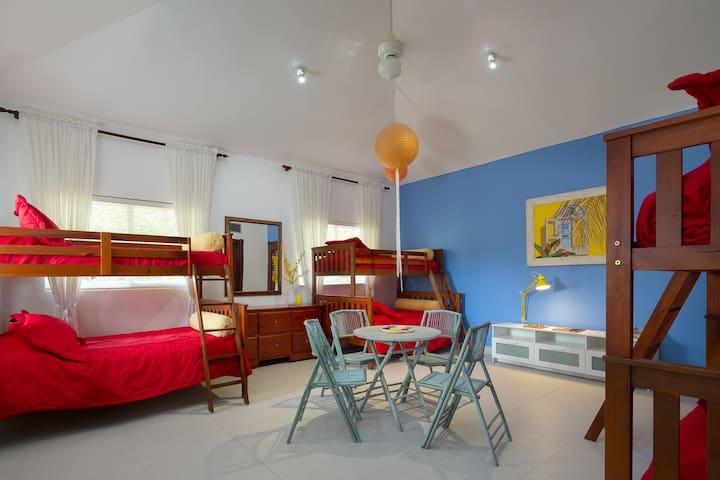 Kids Paradise Suite with adjacent study