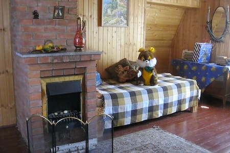 Комната в деревянном домике в подмосковье - Goretovka