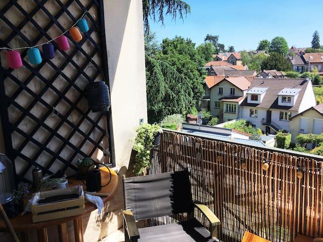 Bel appartement entre Paris et Versailles