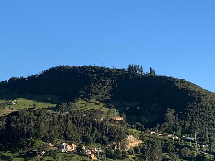 Aire puro y mejor vista a 20 minutos de Bogota