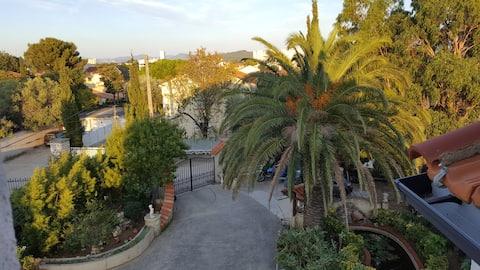 """Appartement type """"loft"""" avec vue panoramique"""