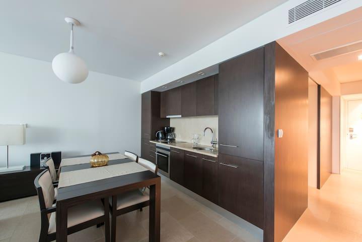 Fantástica Vista para a Marina - Carvalhal - Apartamento