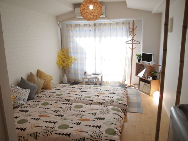 ☆Sunny room☆ in Perfect location