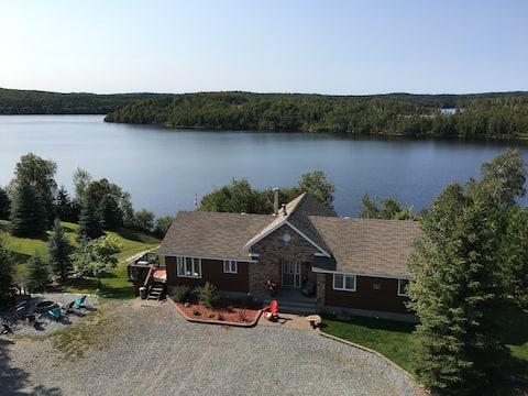 Lakefront Couple's Retreat.