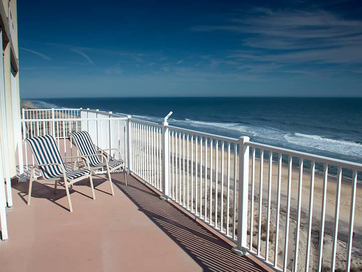 Calypso 702 - Double Balcony w/ Great Oceanfront Views!