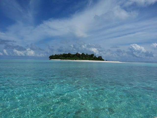 Maldives holiday home with PRIVATE ISLANDS🏝🏖