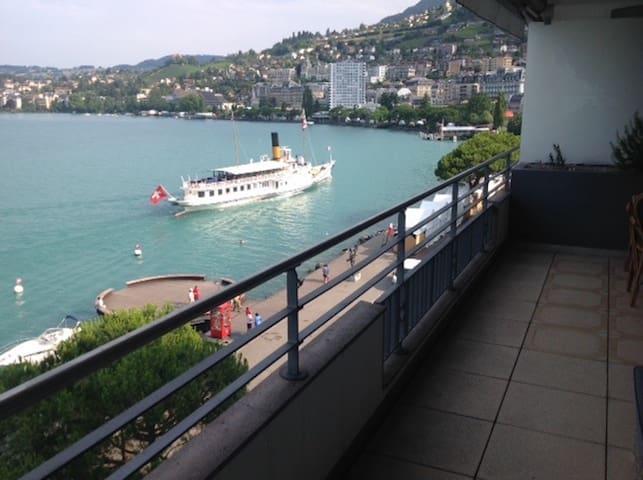 Central Montreux at the lake - Montreux - Suite per als hostes