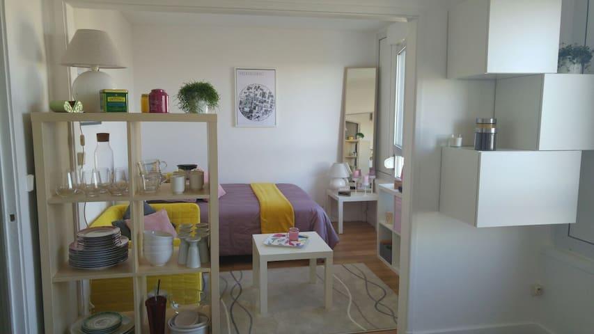Studio Cosi à 10m de Paris - Gennevilliers