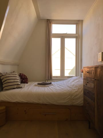 Cosy bedroom in very nice apartment - Harlem - Byt