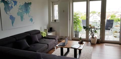 Moderne Wohnung Mitten im Rhein-Main-Gebiet