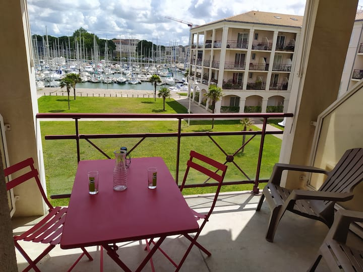 Très bel appartement avec vue sur le port