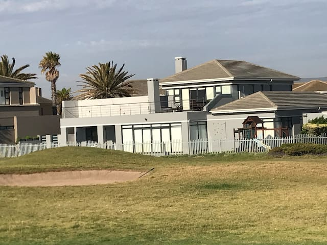 House from the golf course
