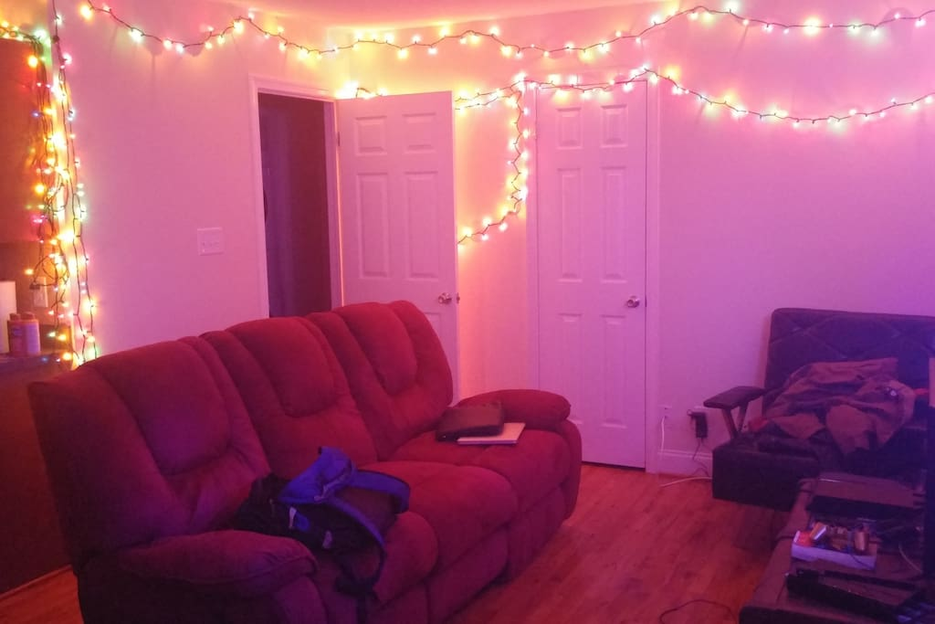 THE COUCH, LIGHTS