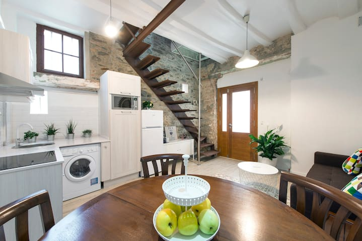 A unique rustic house in Barcelona!!