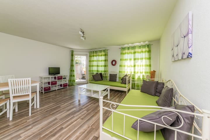 Zentrale und Ruhige 2 Zimmer-Fewo - Waldshut-Tiengen - Apartment