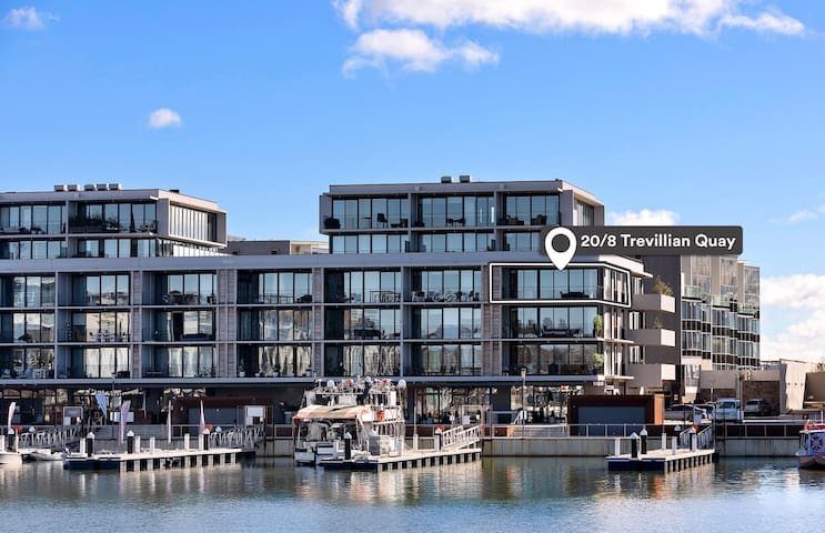 2 BR THE PIER Kingston Foreshore free 🚗 space