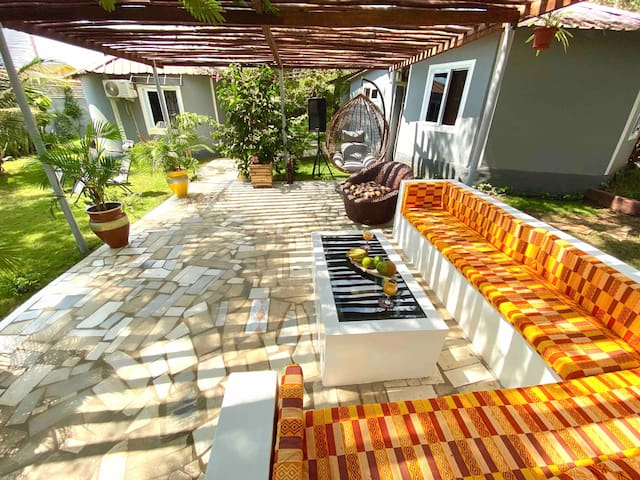 Lukas Garden Accra with gym and Pool