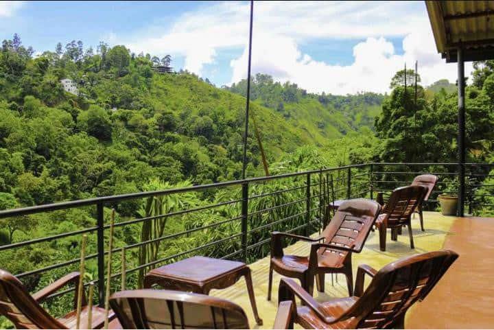 Rawana Mountain View double room