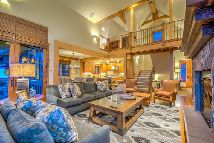 Perfect for 3 Families, Amenities, Location, Views - Chadwick Chalet