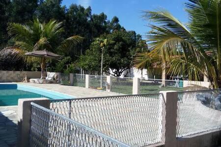 Chácara com piscina à 5 km de Aparecida do Norte - Roseira