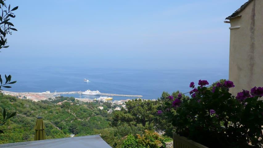 Chambre avec magnifique vue mer - Bastia - Bed & Breakfast