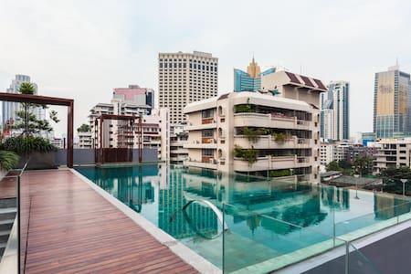 BANGKOK HEART@ASOK NANA MRT/Sukhumvit Cozy room - 曼谷