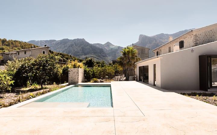 Villa Ca'n Batach- Nueva construcción en Sóller