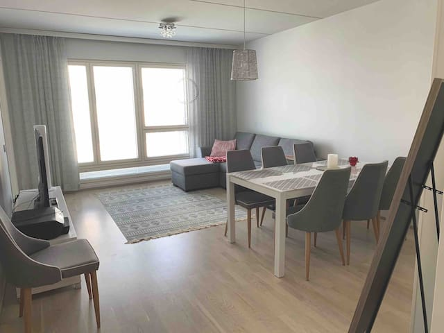 New Spacious Apartment in the Centre, 53 m2