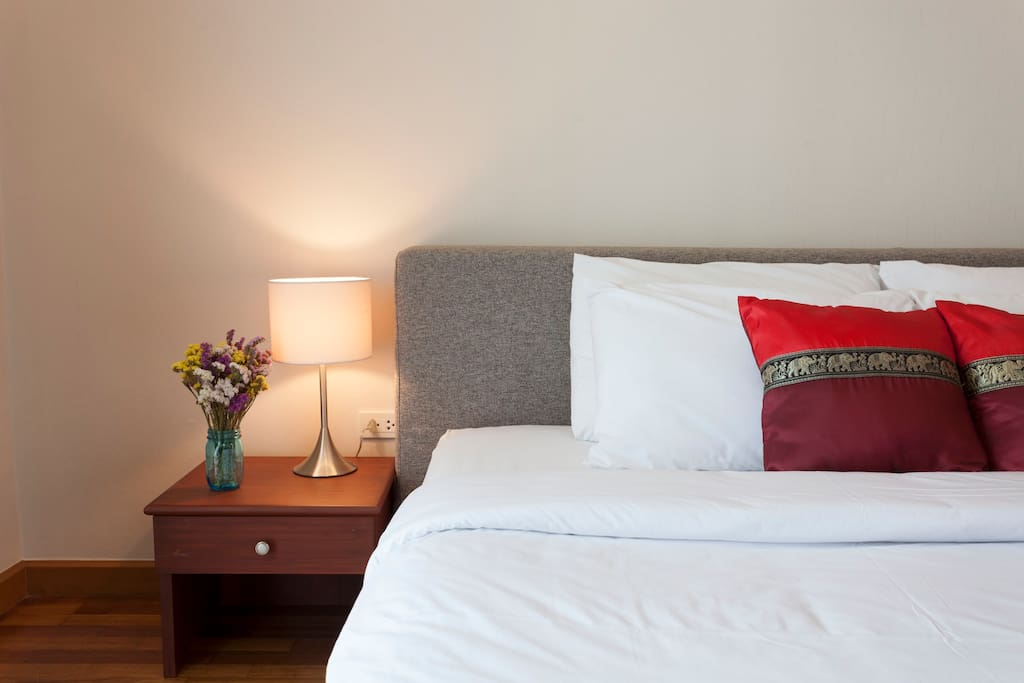 High quality bedding and linen to make your stay the most comfortable and restful one.