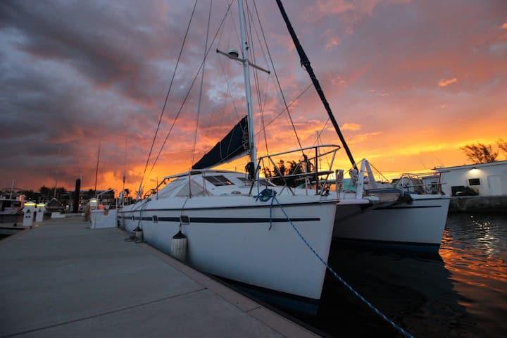 Sail Boat Catamaran/House Boat/ Key west