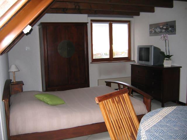 Gîte studio 2-4 personnes proche de Strasbourg