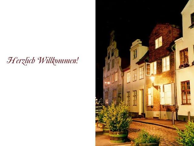 Charmantes Altstadthaus mit Flair !! - Lübeck - Casa