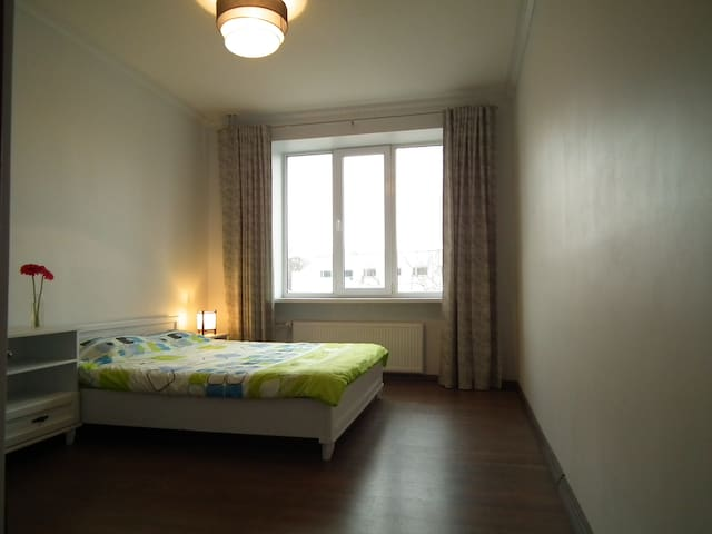 Spacious bedroom in the city center - Tallinn - Apartemen