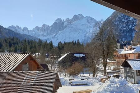 Appartamento in montagna a Valbruna
